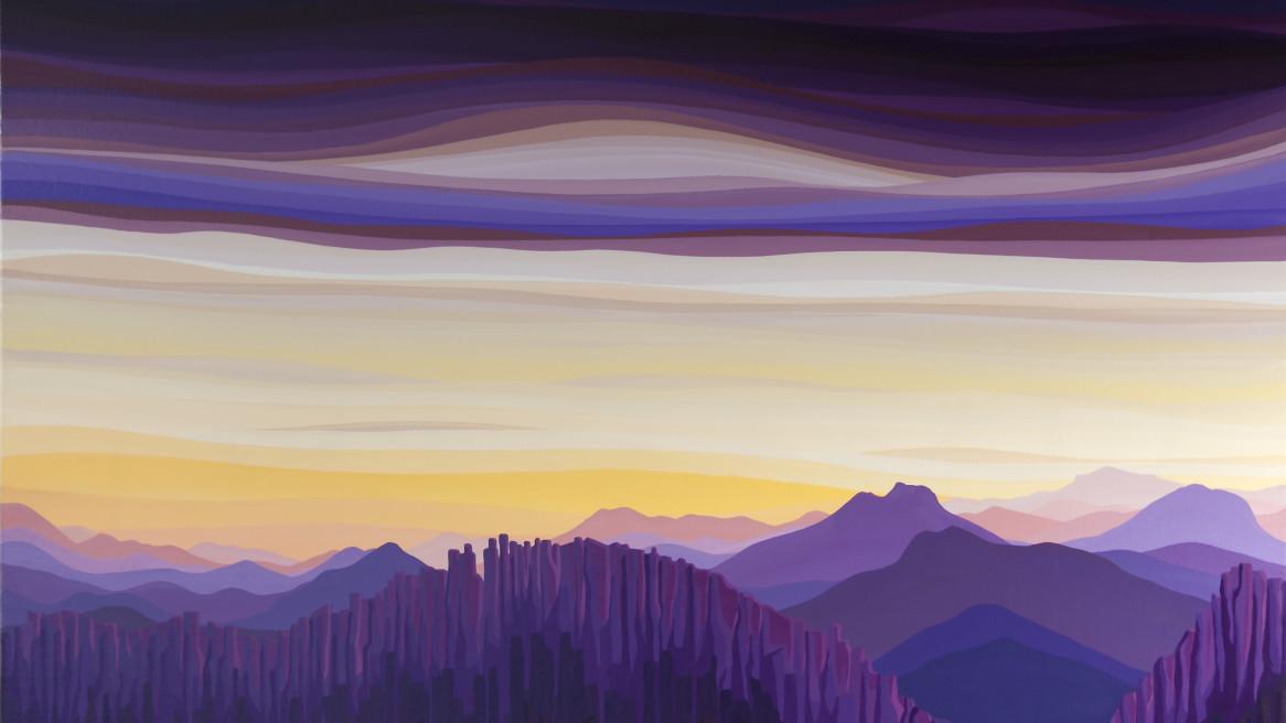 Acropolis twilight Tasmania
