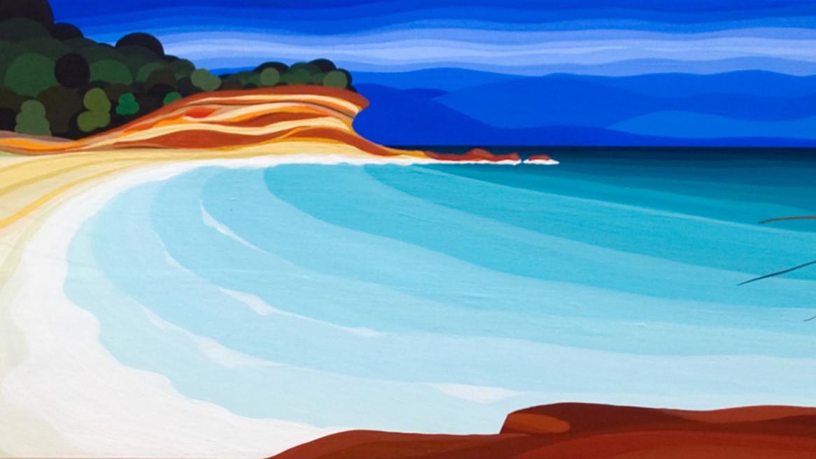 Painted Cliffs Maria