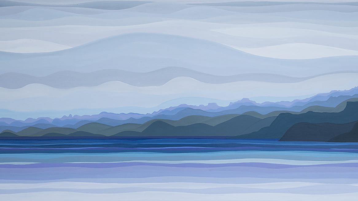 Folded Range – Lake Pedder