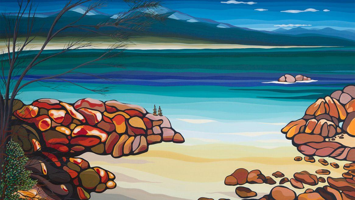 Mt Amos Coles Bay